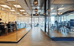 עיצוב משרדים open space- שחר פרנס אדריכלים