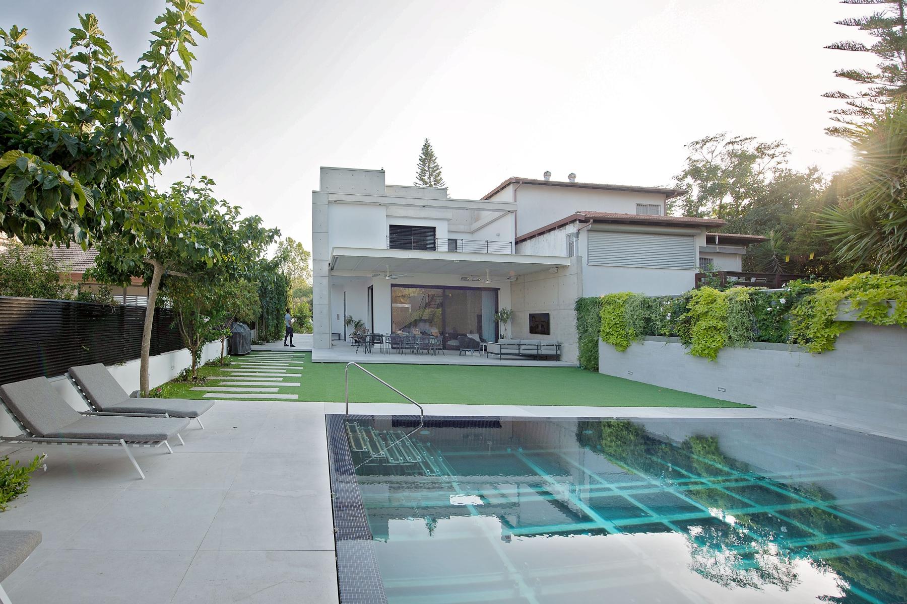 עיצוב בתים פרטיים - דניאל וקנין